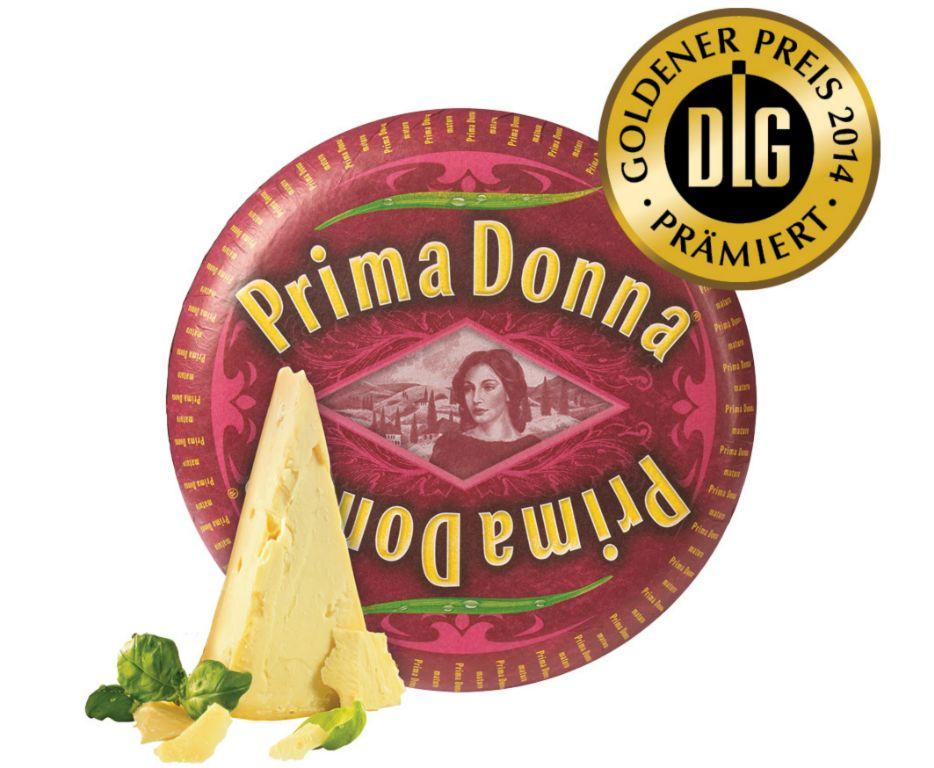 Prima Donna Käse mit DLG-Gold prämiert